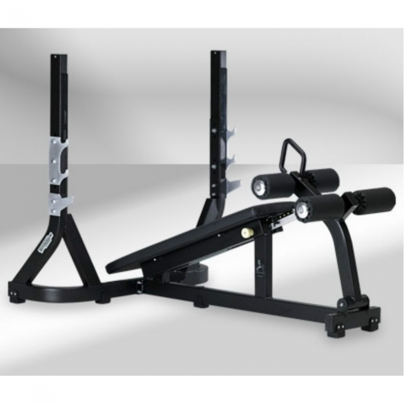 Technogym Olympic Decline Bench - Purestrength  TECHNOPG23